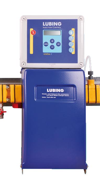 UniDos dozownik elektroniczny firmy Lubing